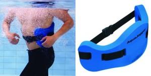 Aqua Jogging Gürtel zum gelenkschonendem Training im Wasser