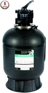 CRISTAL - FLO STA-RITE Sandfilter inkl. 6- Wege Ventil (CRISTAL FLO STA-RITE: ø 380 mm)