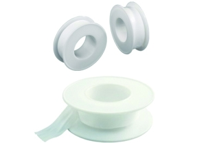Teflonband (Teflonband 12 m oder Flachpinsel: Teflonband 12 m Rolle)