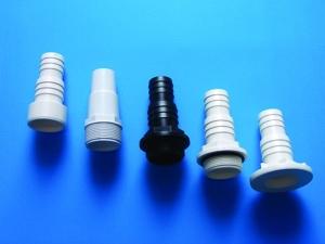 ABS Schlauchtülle gestuft (ABS Schlauchtülle gestuft: mit AG 1 1/2 Zoll - 38/32 mm)