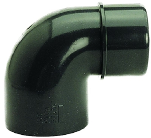 Reduzierwinkel 90°, PVC (Reduzierwinkel 90°: D 50 x 40/50 mm)