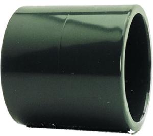 Muffe egal, PVC (Muffe: D 16 mm)