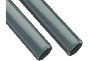 Rohre grau, PVC je m (Rohre, Preisangabe je m: D 16 x 1,5 mm)