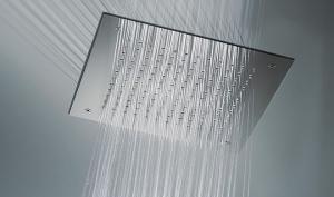 Pure Rain Kopfbrause für Repabad-Dampfbäder (Pure Rain Kopfbrause: Größe L 38x38 cm)