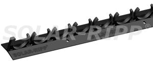 Solar Ripp Clipleiste 15-fach (0,5 m) (Solar-Ripp Clipleiste: Preis je Stück ab 40 Stck)