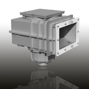 MTS V20 Skimmer, für Folienbecken mit V4A Flansch (Skimmer MTS V20 für Folienbecken, Flansch V4A: Signalweiss)