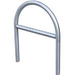 Anlehnbügel / Absperrbügel -Rügen- Ø 48 mm aus Stahl, Höhe 800 mm