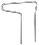 Anlehnbügel -Single- Ø 48 mm aus Stahl, Höhe 800 mm