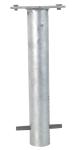 Bodenhülse mit Platte zum Einbetonieren (Ankerkorb)
