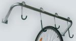 Fahrradaufhänger -Glasgow-, für bis zu 6 Räder - flexibler Einstellwinkel 45° bis 90° (Aufhänger/Länge: 4er/1400mm (Art.Nr.: 10857))