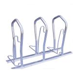 Fahrradst&auml;nder -London- einseitige Radeinstellung (Einstellplatz/L&auml;nge/Montage:  <b>1er</b> 500 mm tief/zum Einbetonieren (Art.Nr.: 10514))