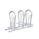 Fahrradst&auml;nder -London- zweiseitige Radeinstellung (Einstellplatz/L&auml;nge/Montage:  <b>2er</b> 500 mm tief/zum Einbetonieren (Art.Nr.: 10526))
