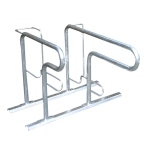 Fahrradst&auml;nder -Moskau- zweiseitige Radeinstellung, ADFC Qualit&auml;t (Einstellplatz/L&auml;nge/Montage:  <b>2er</b> tief/zum Aufschrauben (Art.Nr.: 10465))