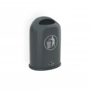 Abfallbehälter ohne oder mit Ascher -Saluna / Saluna+- (Zubehörartikel für Überdachungen J, K, P)