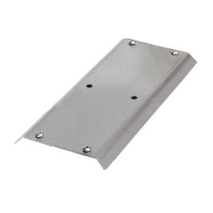 Adapterplatte für Reihenanlehnbügel -Kalchas- aus Edelstahl (Ausführung: Adapterplatte für Reihenanlehnbügel -Kalchas- aus Edelstahl (Art.Nr.: 41097))
