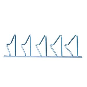 Adapterplatte für Reihenanlehnbügel -Kalchas- aus Stahl (Beschichtung: ohne Pulverbeschichtung (Art.Nr.: 40156))