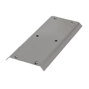 Adapterplatte für Reihenanlehnbügel -Kalchas- aus Stahl (Beschichtung: ohne Pulverbeschichtung (Art.Nr.: 41098))