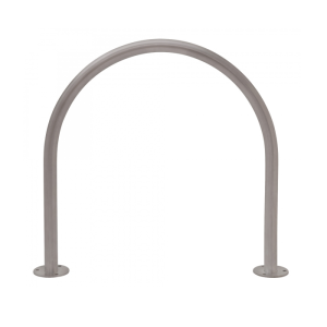 Anlehnbügel / Absperrbügel -Bow- Ø 48 mm aus Stahl, zum Aufdübeln (Ausführung: Anlehnbügel/Absperrbügel -Bow- Ø 48 mm aus Stahl, zum Aufdübeln (Art.Nr.: 39466))