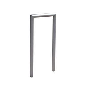 Anlehnbügel / Absperrbügel -Kassel- Ø 48 mm aus Stahl, Höhe 800 mm