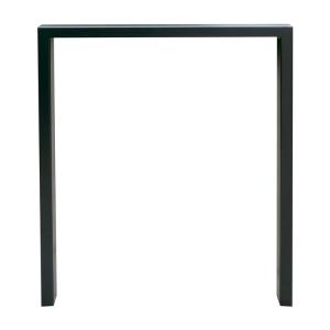 Anlehnbügel / Absperrbügel -Spiekeroog- 80 x 20 mm aus Stahl, Höhe 800 mm, zum Einbetonieren (Breite/Farbe:  <b>450mm</b>/ohne Farbe (Art.Nr.: 458.045))