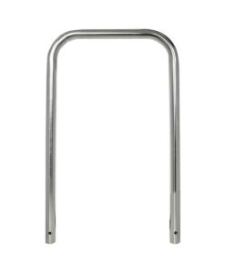 Anlehnbügel / Absperrbügel Ø 48 mm aus Edelstahl