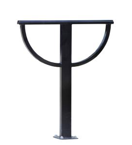 Anlehnbügel -Aileen- aus Stahl, Höhe 870 mm