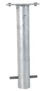 Bodenhülse mit Platte zum Einbetonieren (Ankerkorb) (Ausführung: Bodenhülse mit Platte zum Einbetonieren (Ankerkorb) (Art.Nr.: 470.60))