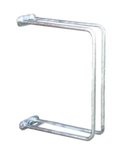 Einzelparker / Fahrradständer -Ankara-, zur Wandbefestigung 90°, Reifenbreite bis 43 mm (Ausführung: Einzelparker/Fahrradständer -Ankara-, zur Wandbefestigung 90°, Reifenbreite bis 43 mm (Art.Nr.: 10854))