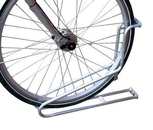 Einzelparker / Fahrradständer -Bristol-, zur Wandbefestigung 90°, Reifenbreite bis 53 mm (Ausführung: Einzelparker/Fahrradständer -Bristol-, zur Wandbefestigung 90°, Reifenbreite bis 53 mm (Art.Nr.: 10847))