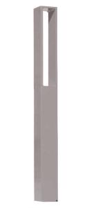 Einzelparker / Fahrradständer -Izmir-, Höhe über Flur 1000 mm (Montage: zum Einbetonieren (Art.Nr.: 15658))