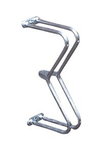 Einzelparker / Fahrradständer -Liverpool-, zur Wandbefestigung 90°, Reifenbreite bis 43 mm (Ausführung: Einzelparker/Fahrradständer -Liverpool-, zur Wandbefestigung 90°, Reifenbreite bis 43 mm (Art.Nr.: 10848))