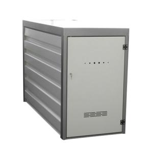 Fahrradgarage / Fahrradbox -Binion- (2200x840x1360mm), sehr stabil, optionale Einschubvorrichtung