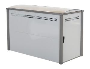 Fahrradgarage / Fahrradbox -Mirage- (2000 x 1000 x 1300 mm), wahlweise als Grund- oder Anbauelement (Modell:  <b>Anbaufeld</b><br>Gewicht ca. 80 kg (Art.Nr.: 15338))