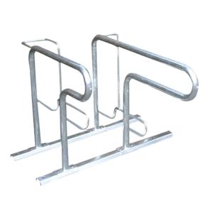 Fahrradständer -Moskau- einseitige Radeinstellung, ADFC Qualität (Einstellplatz/Länge/Montage:  <b>1er</b> tief/zum Einbetonieren (Art.Nr.: 10459))
