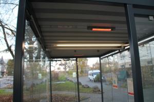 Infrarotheizungssystem InLight Heat für Überdachungen der Modelle K1, K2, K3 oder K4 (Ausführung: Infrarotheizungssystem InLight Heat für Überdachungen der Modelle K1, K2, K3 oder K4 (Art.Nr.: 40790))