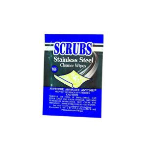 SCRUBS Edelstahl-Reinigungstücher -Single Pack-, VPE 100 Stk. (Ausführung: SCRUBS Edelstahl-Reinigungstücher -Single Pack-, VPE 100 Stk. (Art.Nr.: 15850))