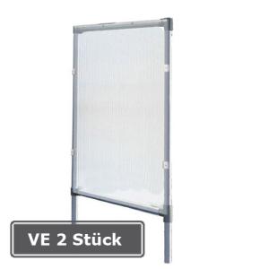 Seitenverkleidung für Überdachungssystem -Roof-, VE 2 Stück (Ausführung: Seitenverkleidung für Überdachungssystem -Roof-, VE 2 Stück (Art.Nr.: 22604))