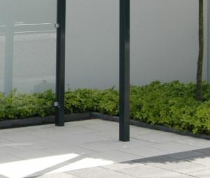 Stützenverlängerung für Überpflasterung der Fußplatten um 200 mm (Stützenverlängerung: für Modelle mit 4 Stützen (Art.Nr.: 40953))