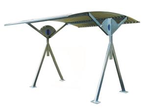 Überdachungssystem -Slew-, einseitig, schwenkbar (Breite: 2500 mm (Art.Nr.: 24217))