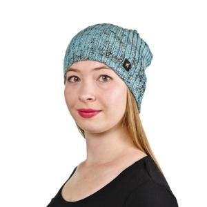 Alpaka Mütze Samantha One Size für Kopfgrößen S-XL für Damen stylisch und modern (Farbe: Camel)