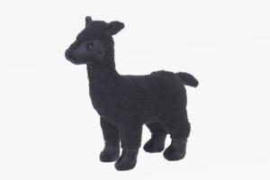 Alpaka Plüschtier in schwarz