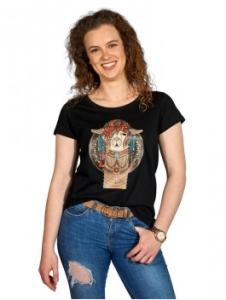 T-Shirt Phoenix Damen 100% (Bio) Baumwolle (Größe: L Schwarz)