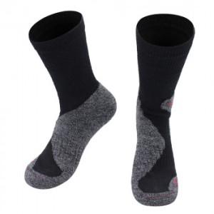Alpaka Trekking Socken für Damen und Herren (Farbe: Olive 39-41)