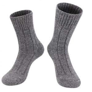 Alpaka Winter Socken für Damen und Herren (Farbe: Meliert 42-44)