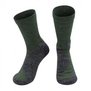 Alpaka Jagd Socken für Damen und Herren (Farbe: Olive 39-41)