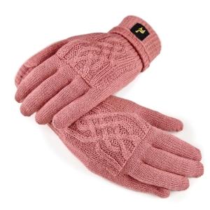 Handschuhe Sara 100% Baby Alpaka für Größen S-L One Size für Damen (Farbe: Natur)