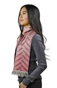 Damen Schal Rosie 100% Baby Alpaka One Size (Farbe: Rosa)