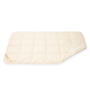 Alpaka Spann-Unterbett (Größe: 90x190 cm)