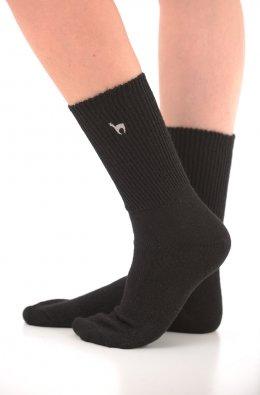 Alpaka Soft Socken in schwarz (Größe: Größe 36 - 38)