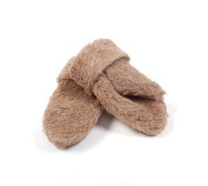 Fausthandschuhe aus Alpakaflor (Größe: Größe 9)